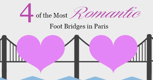 foot bridges in paris
